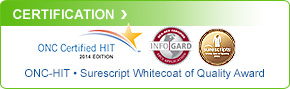 InfoGard - ONC-HIT - Surescripts Whitecoat Quality Award
