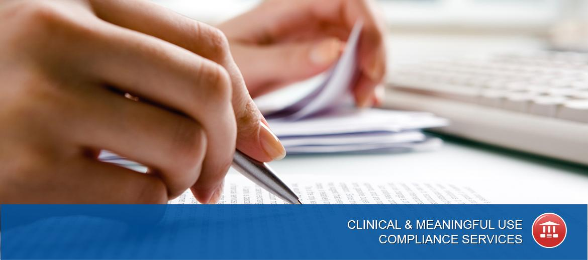 Clinical and Meaningful Use Compliance Services