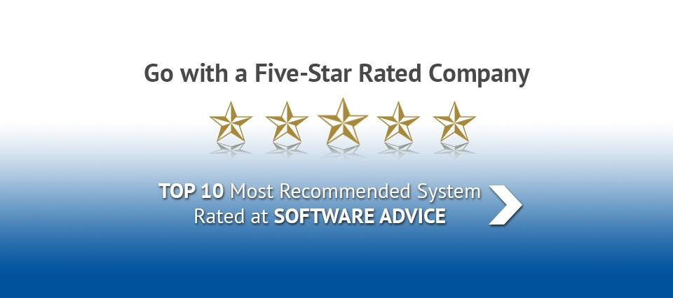 WRS Health Software Advice 5-Star Rating