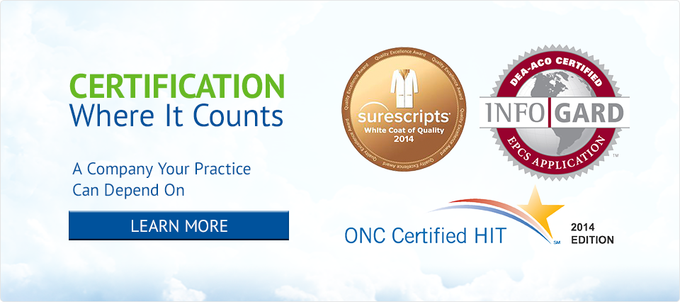 2014 Certified Meaningful Use EHR